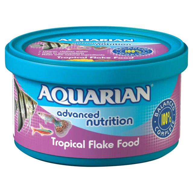 Aquarian Tropical Flake Food 200g