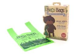 Beco Bear Size Poop Bags with handles – 120