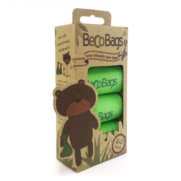 Beco Bear Size Poop Bags – 60