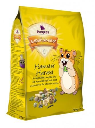 Burgess SuperHamster Hamster Harvest 750g