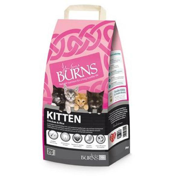 Burns  Kitten Chicken & Rice 2kg