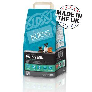 Burns Puppy & Junior Mini Chicken & Rice 2kg