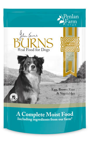 Burns Egg Brown Rice & Veg 400g