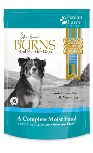 Burns Lamb Brown Rice & Veg 400g