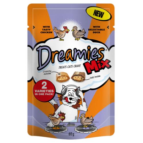 Dreamies Mixes Chicken & Duck 60g