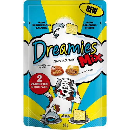 Dreamies Mixes Salmon & Cheese 60g