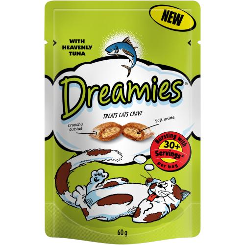Dreamies Cat Treats Tuna 60g