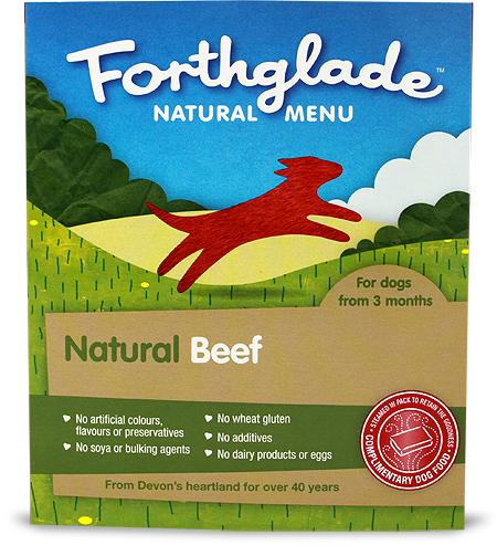 Forthglade Natural Menu beef