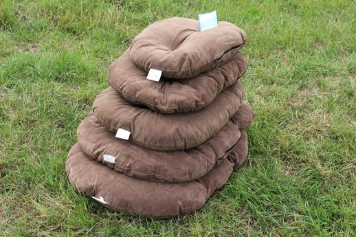 GorPets Oval Pet Cushion 53cm Brown