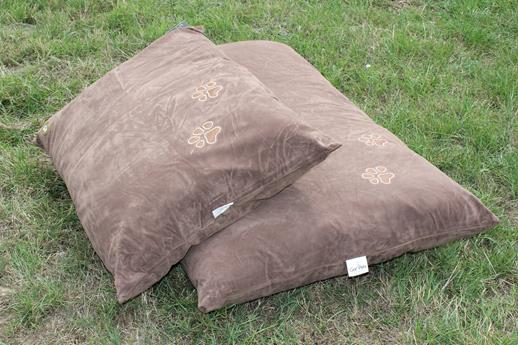 Gorpets Brown Suede Comfy Cushion Medium (76 x 117cm)