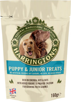 Harringtons Puppy & Junior Treats 160g