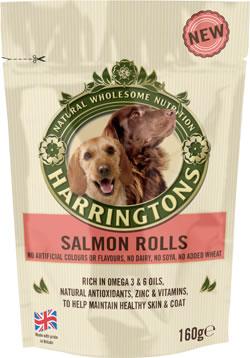 Harringtons Salmon Rolls 160g