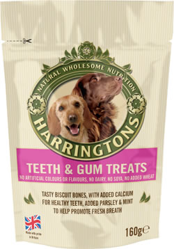 Harringtons Teeth & Gum Treats 160g