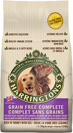 Harringtons Grain Free Complete 1.75kg