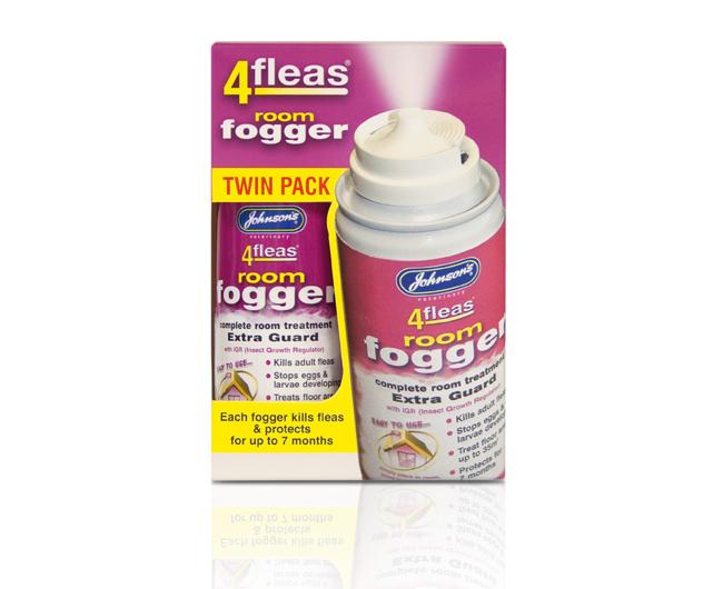 Johnsons 4Fleas Fogger – Twin Pack 100ml