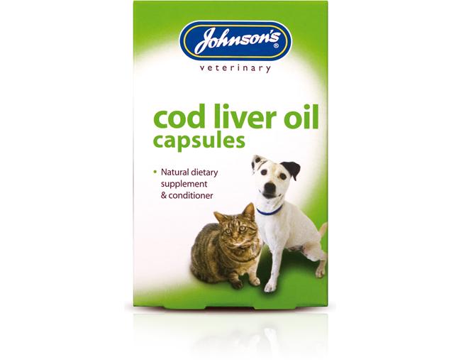 Johnsons Cod Liver Oil Capsules 40