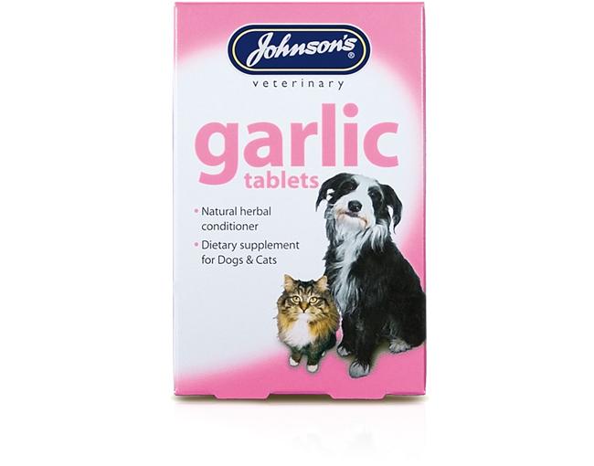 Johnsons Garlic Tablets 40