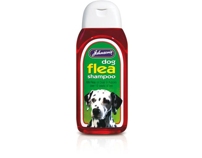 Johnsons Dog Flea (Insecticidal) Shampoo 200ml