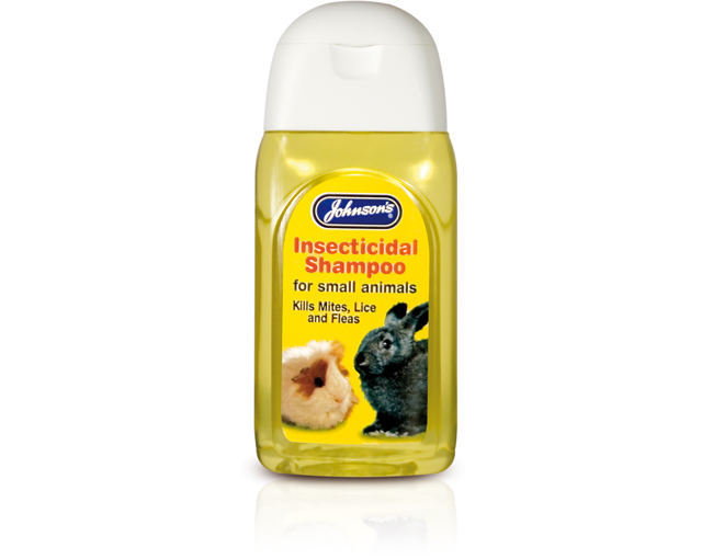 Johnsons Insecticidal Shampoo (for small animals) 125ml