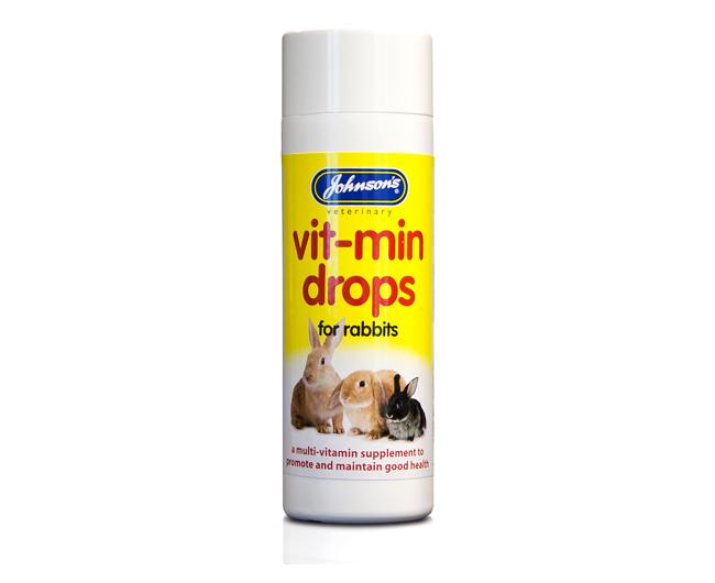 Johnsons Rabbit Vit-Min Drops 100ml