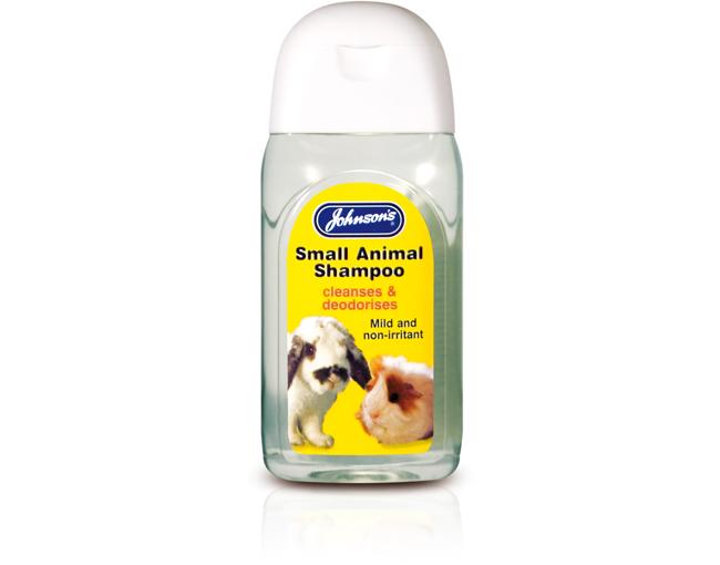 Johnsons Small Animals Cleansing Shampoo 125ml