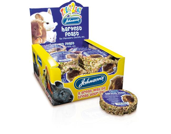 Johnsons Hamster/Gerbil Harvest Feast