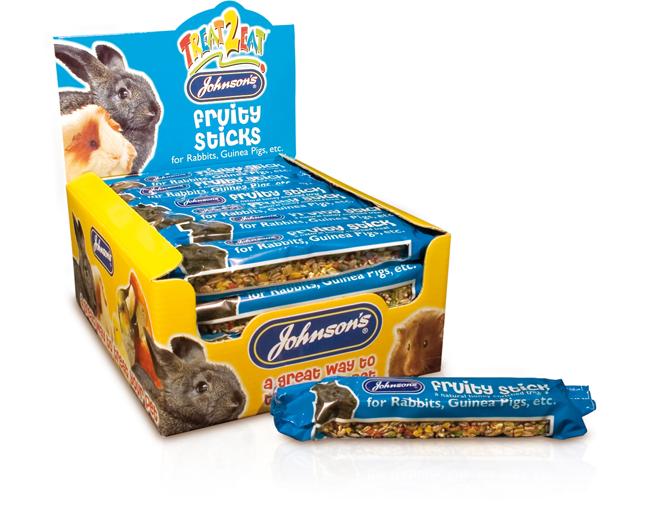 Johnsons Rabbit/Guinea Pig Fruity Sticks