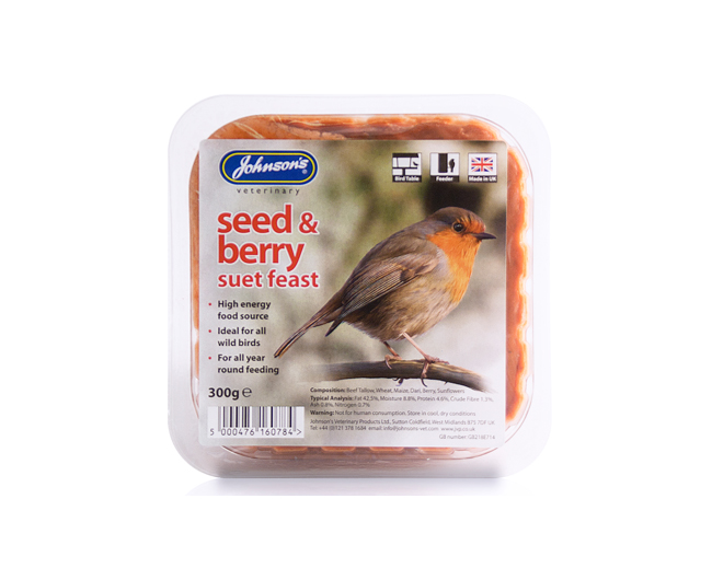 Johnsons Berry Suet Feast 300g
