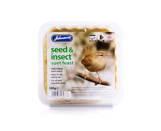 Johnsons Insect Suet Feast 300g