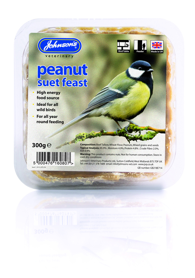 Johnsons Peanut Suet Feast 300g