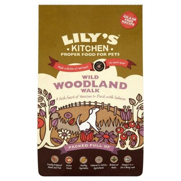 Lily's Kitchen Wild Woodland Walk Grain-Free Food 7kg
