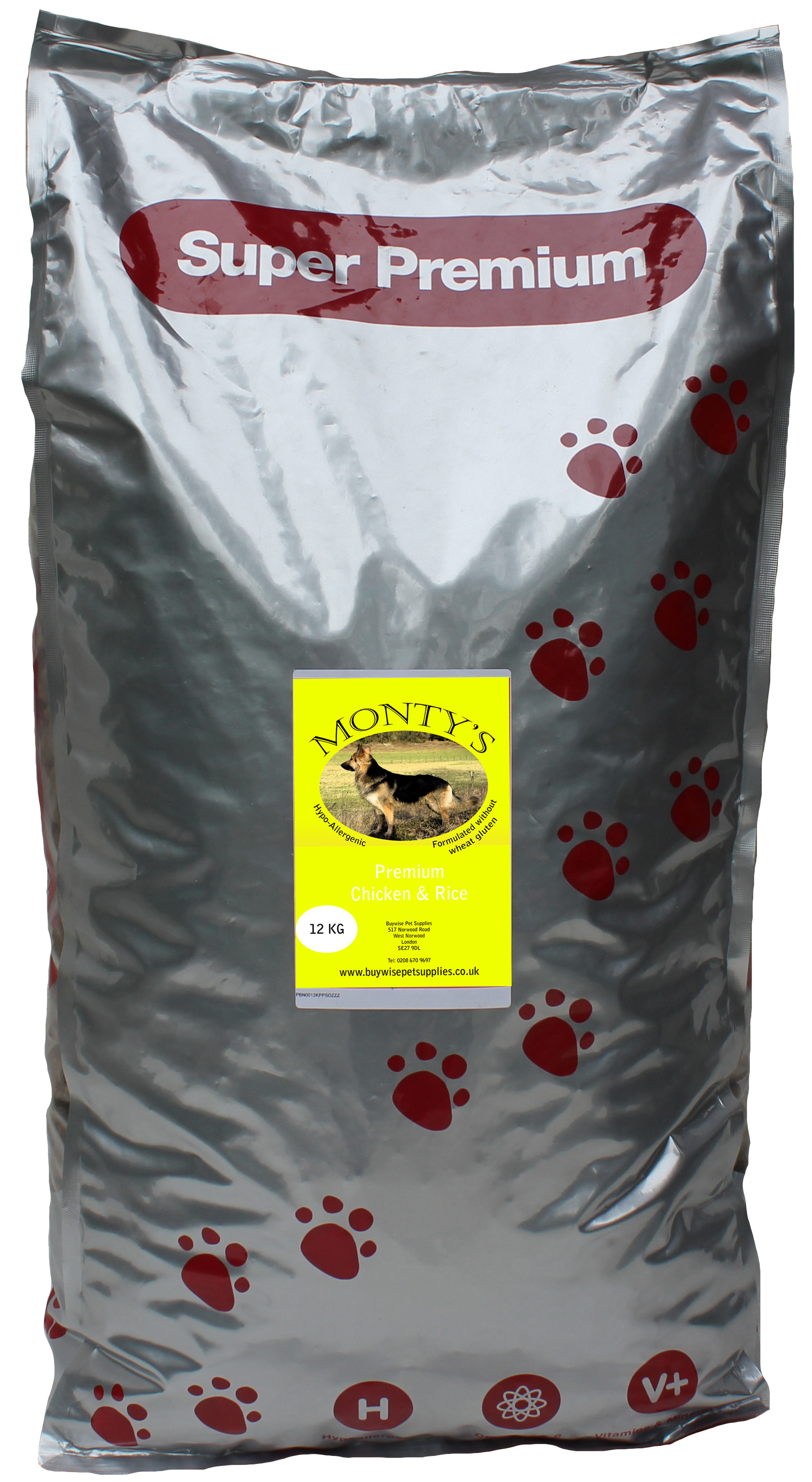 Montys Chicken and Rice 12kg