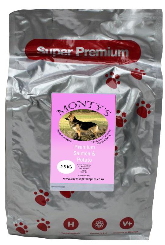 Montys Salmon and Potato 2kg