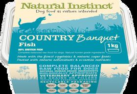 Natural Instinct Country Banquet Fish 1kg