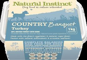 Natural Instinct Country Banquet Turkey 1kg