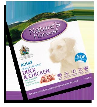 Natures Harvest Duck & Chicken 395g