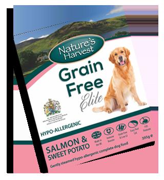 Natures Harvest Grain Free Salmon 395g