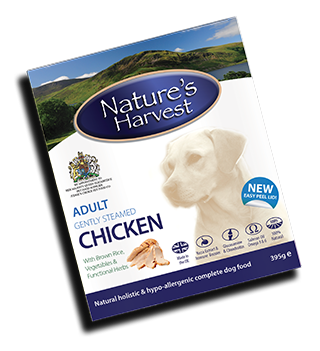 Natures Harvest Chicken 395g
