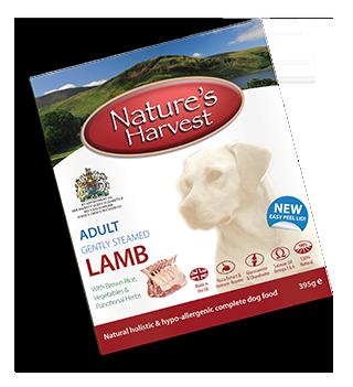 Natures Harvest Lamb 395g