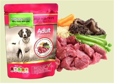 Natures Menu Beef with Tripe 300g