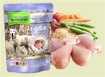 Natures Menu Chicken with Rabbit & Duck 300g