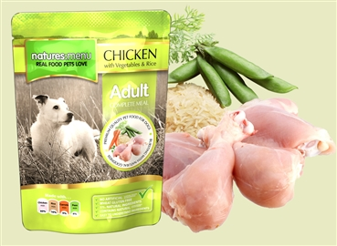 Natures Menu Chicken with Vegetables 300g