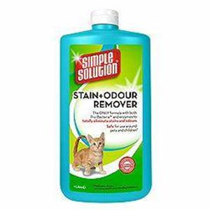 Simple Solutions Stain & Odour Remover 1 litre – Cat