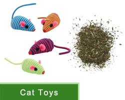 Cat Toys and Catnip